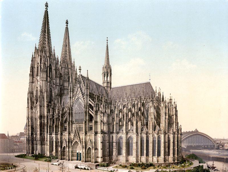 Kölner Dom um 1900