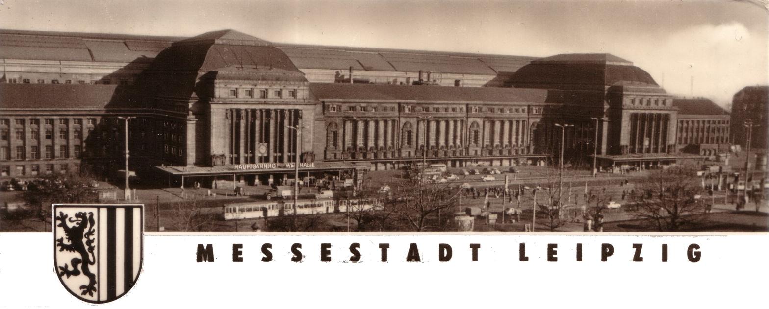 Messestadt Leipzig, Demonstrationen, Wiedervereinigung, DDR, Mauerfall